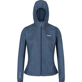 Regatta Arec II Softshell Jas Dames, dark denim/navy